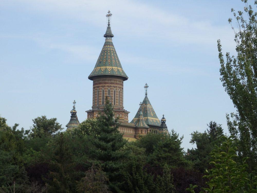 Orthodox Metropolitan Cathedral in Timisoara, Romania. Timisoara photo essay