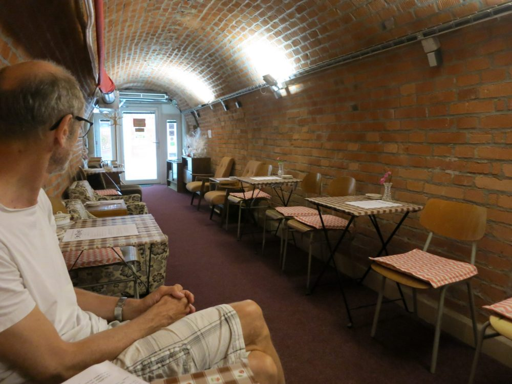 The little cafe inside the bunker: Macabre sightseeing in Brno