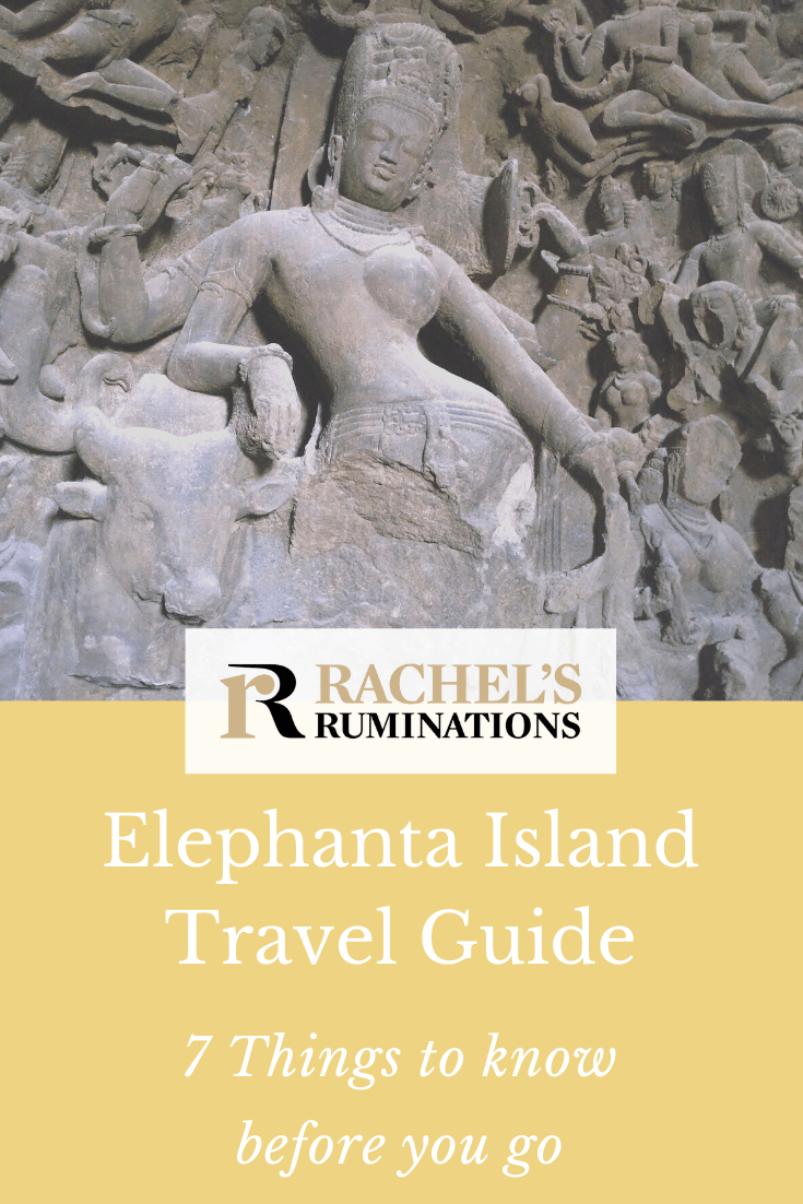 Elephanta Island is a UNESCO site near Mumbai, India. My first piece of advice in my Elephanta Island travel guide? Watch out for monkeys! #rachelsruminations #mumbai #india #unescosite #elephanta #elephantaisland via @rachelsruminations