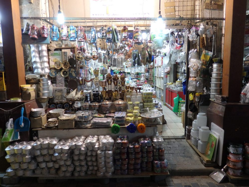 A shop in the Kuwait City souk