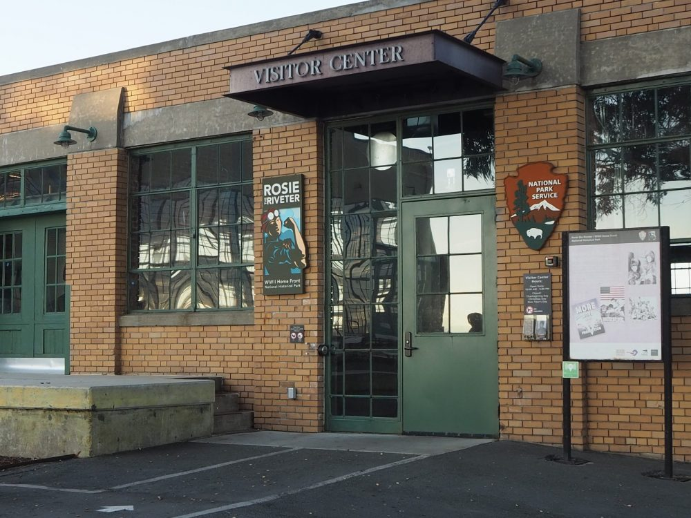The Visitor Center at the Rosie the Riveter Museum