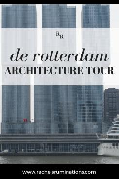 Rotterdam Architecture Tour pin