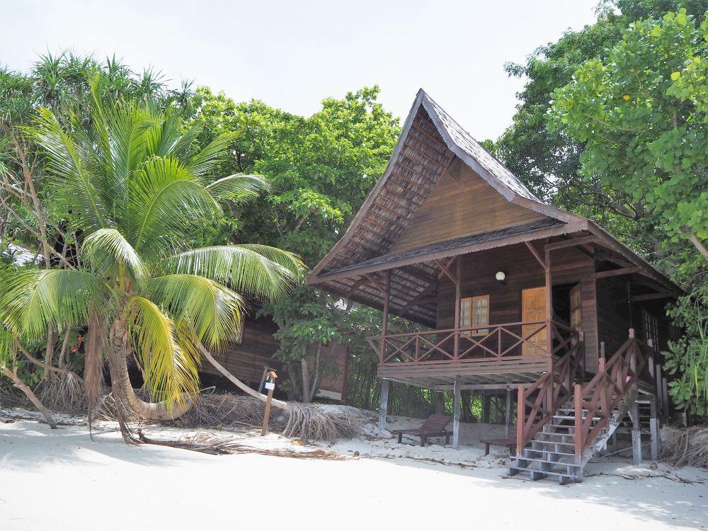 Our chalet at Lankayan Island Dive Resort.