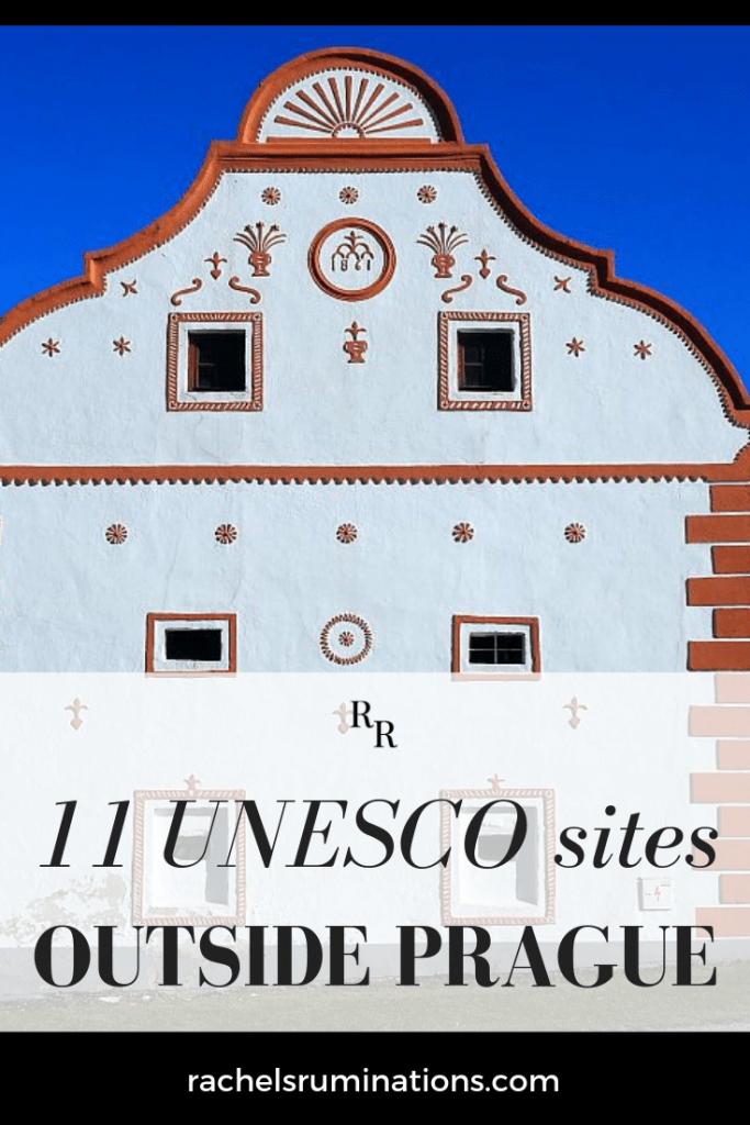 Read here all about the Czech Republic's 11 UNESCO sites outside of Prague! #UNESCO #Czechia #CzechRepublic #visitczechrepublic