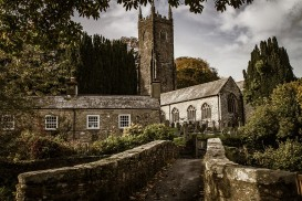 A pretty church in Altarnun, near Camelford.
