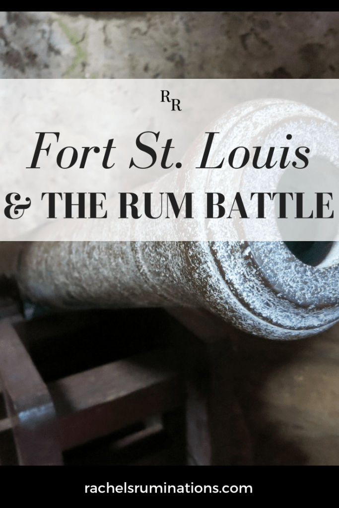 The best part of the tour of Fort St. Louis in Martinique is the storytelling, particularly the story about the Rum Battle! Read about it here! #martinique #militaryhistory #fortdefrance