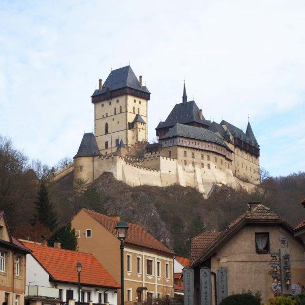 Visiting Karlstejn Castle from Prague