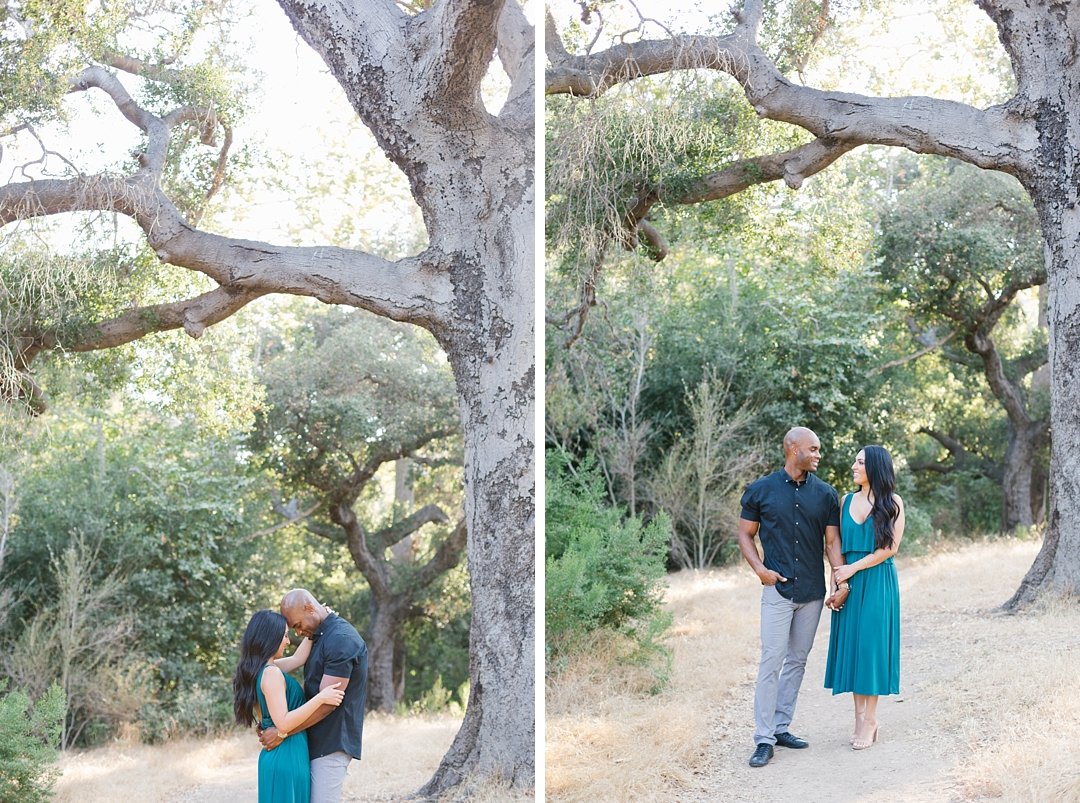 malibu engagement photos solstice canyon