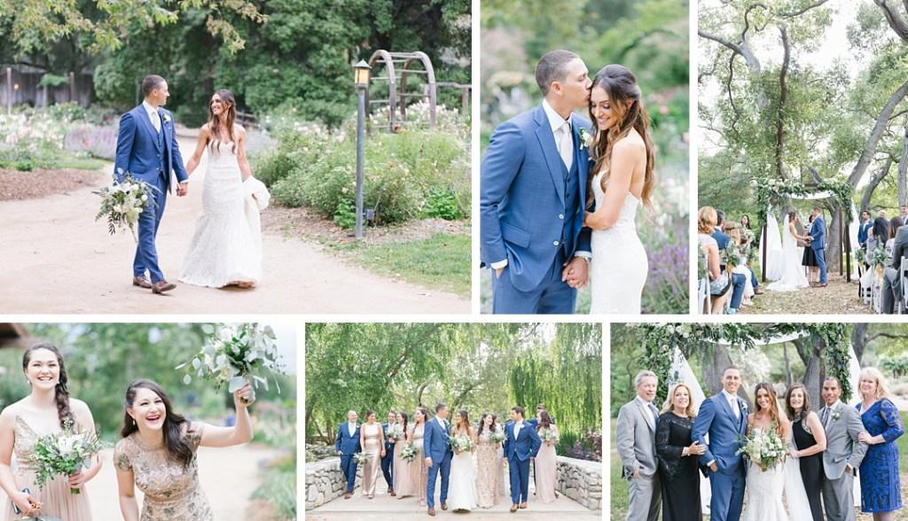 Spring Descanso Gardens wedding
