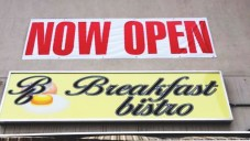 Just kidding! Ohans wasn't open so to breakfast bistro we went!