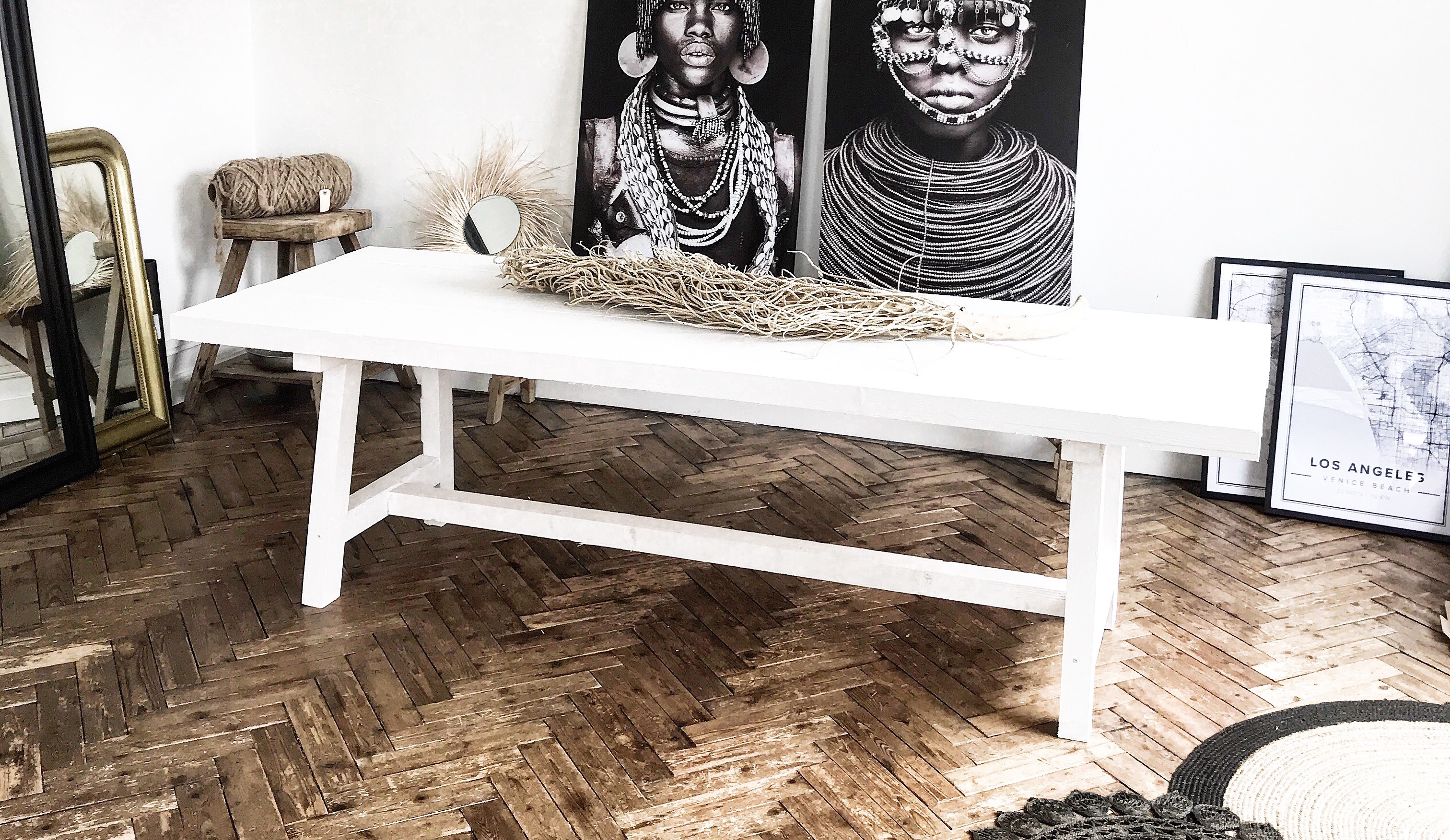 DIY - Comment fabriquer une table en bois robuste avec un ...
