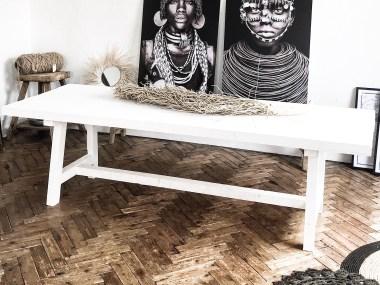 fabriquer table à manger en bois diy