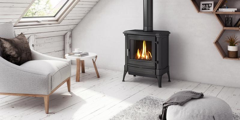 la cheminée au gaz naturel