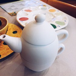 three part teapot