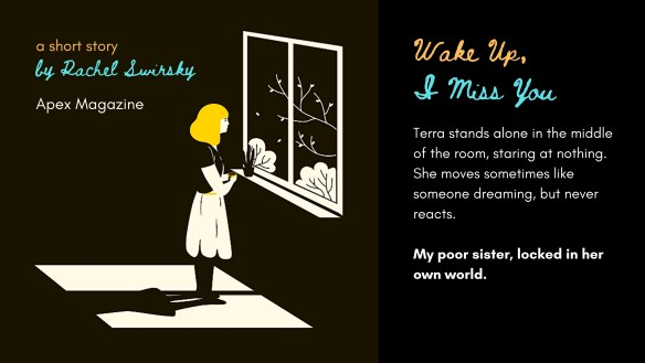Wake Up, I Miss You - Woman at Window Image
