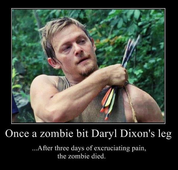 Motivational Memes Daryl Dixon The Walking Dead Rachel Tsoumbakos