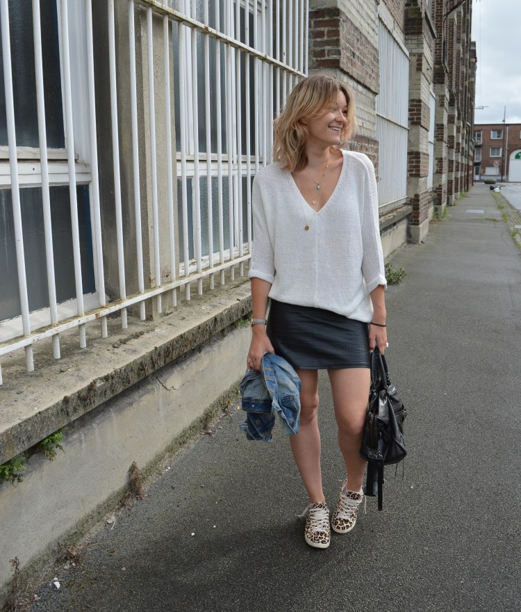 baskets leopard zara basket leo blog mode lille rachel vdw