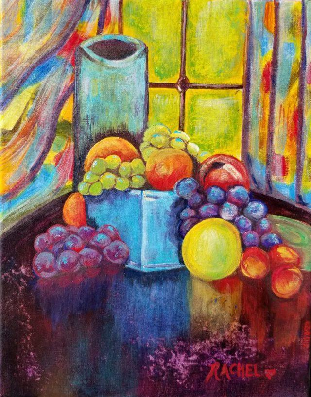 Window pleasures Rachel Painting