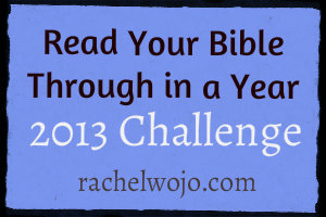 read your Bible challenge