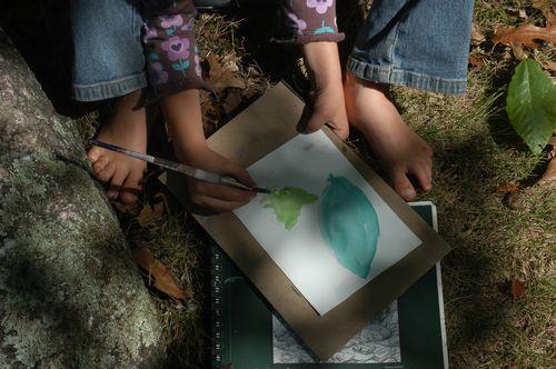 Make art in nature. | Clean : : The LuSa Organics Blog