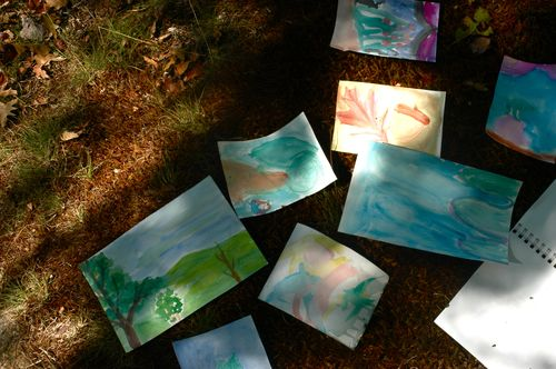 Make art in nature. | Clean : : The LuSa Organics Blog