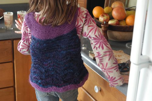 Handspun vest | Clean : : the LuSa Organics Blog