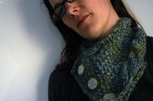 Handspun cowl. | Clean : : the LuSa Organics Blog