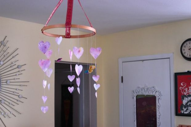 Valentine Mobile | Clean : : the LuSa Organics Blog