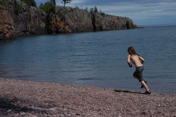The north shore. Lake Superior. [Clean.]