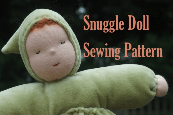 LuSa Mama's Snuggle Doll Sewing Pattern