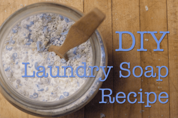 DIY Laundry Soap Recipe : : Clean : : www.lusaorganics.typepad.com