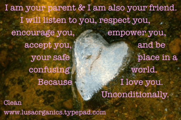 Ten ways to peacefully parent your teenager | Clean. www.lusaorganics.typepad.com