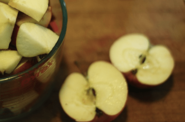 How to make easy, homemade applesauce. (For canning or eating fresh!)