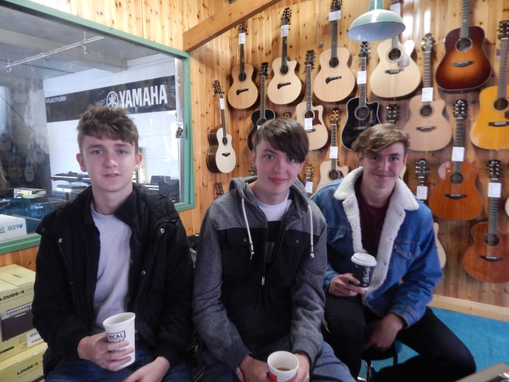 A cuppa with the klares