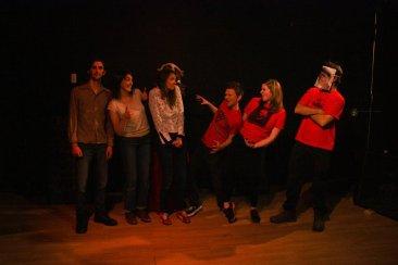 Accordion Time Machine presents Satan Versus Laundry. 2014 photos courtesy of Anam Cara Theatre.