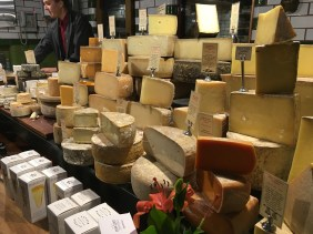 Just some of the cheese at Spring Street Grocer
