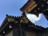 The entrance to Nijo Castle