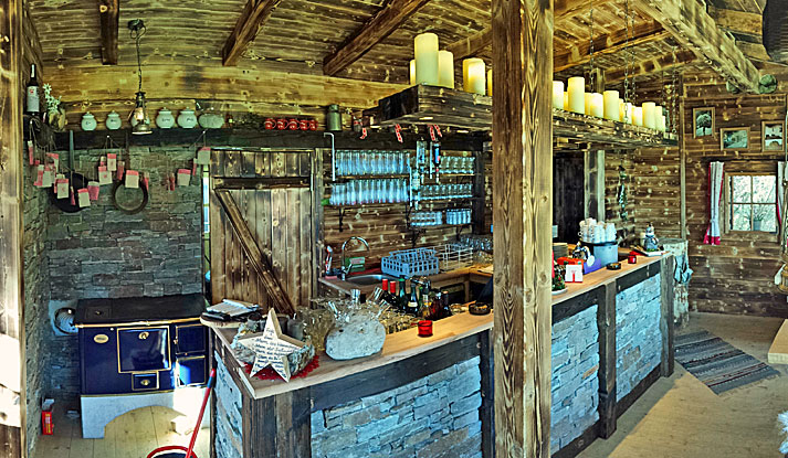 Urige Hütte
