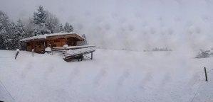 Die RachKuchl am Vomperberg - im Winter