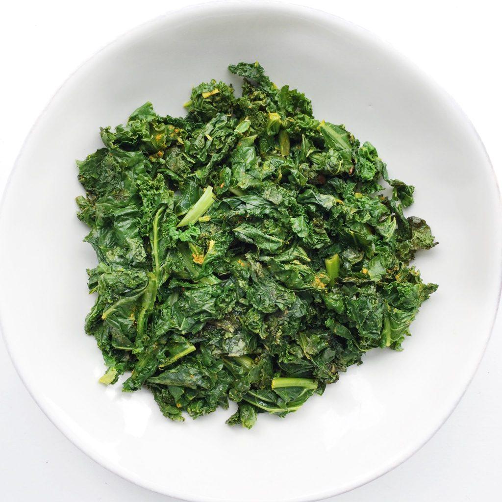 Garlic Turmeric Kale