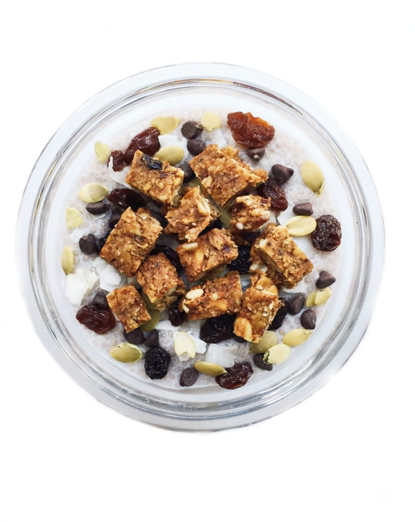 Trail Mix Chia Seed Pudding
