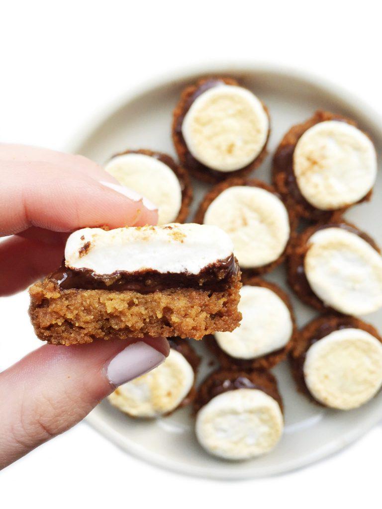 Vegan & Gluten-free S'mores Cookie Bites by rachLmansfield