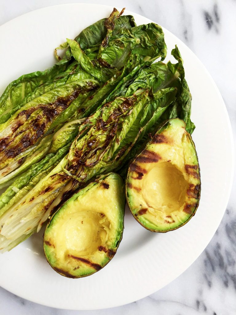 Grilled Romaine and Avocado Salad by rachLmansfield