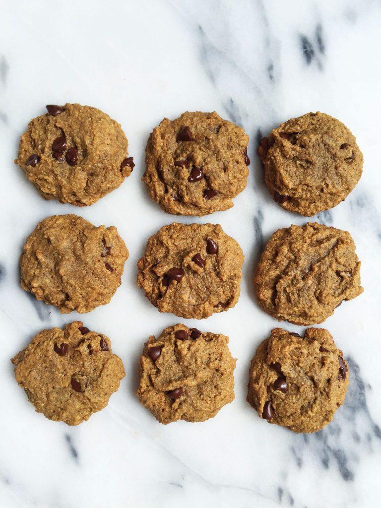 Grain, Gluten & Dairy-free Soft Paleo Chocolate Chip Cookies