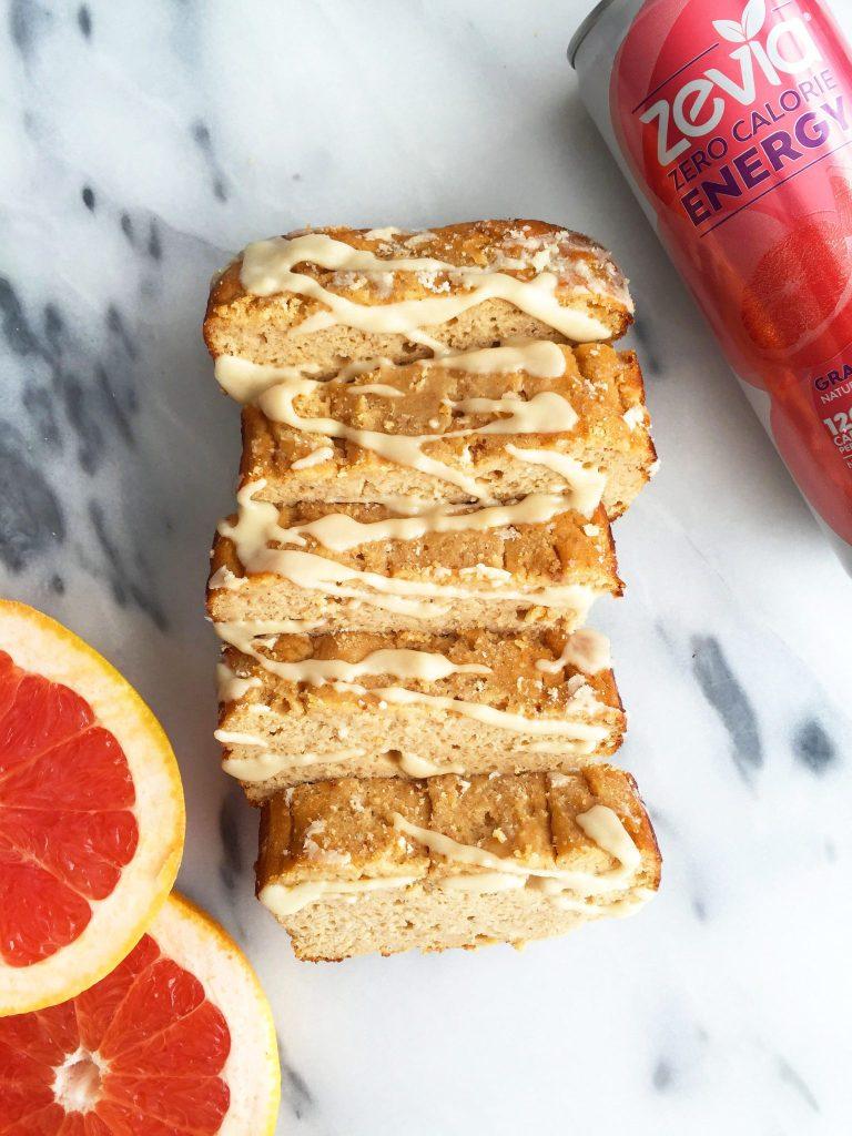 Flourless Grapefruit Yogurt Bread made with less than 10 ingredients