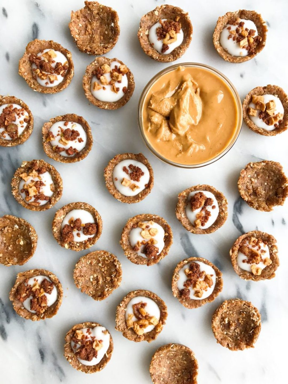 Mini No-Bake Oatmeal Breakfast Bowls (vegan, gluten-free)