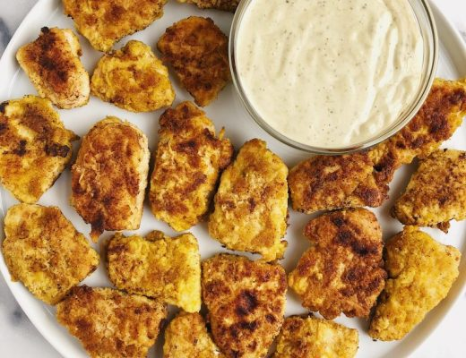 Paleo Crispy Chicken Nuggets (nut-free!)