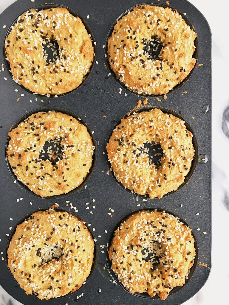 15-minute Homemade Paleo Bagels made with my favorite paleo pizza mix, so easy and delicious!