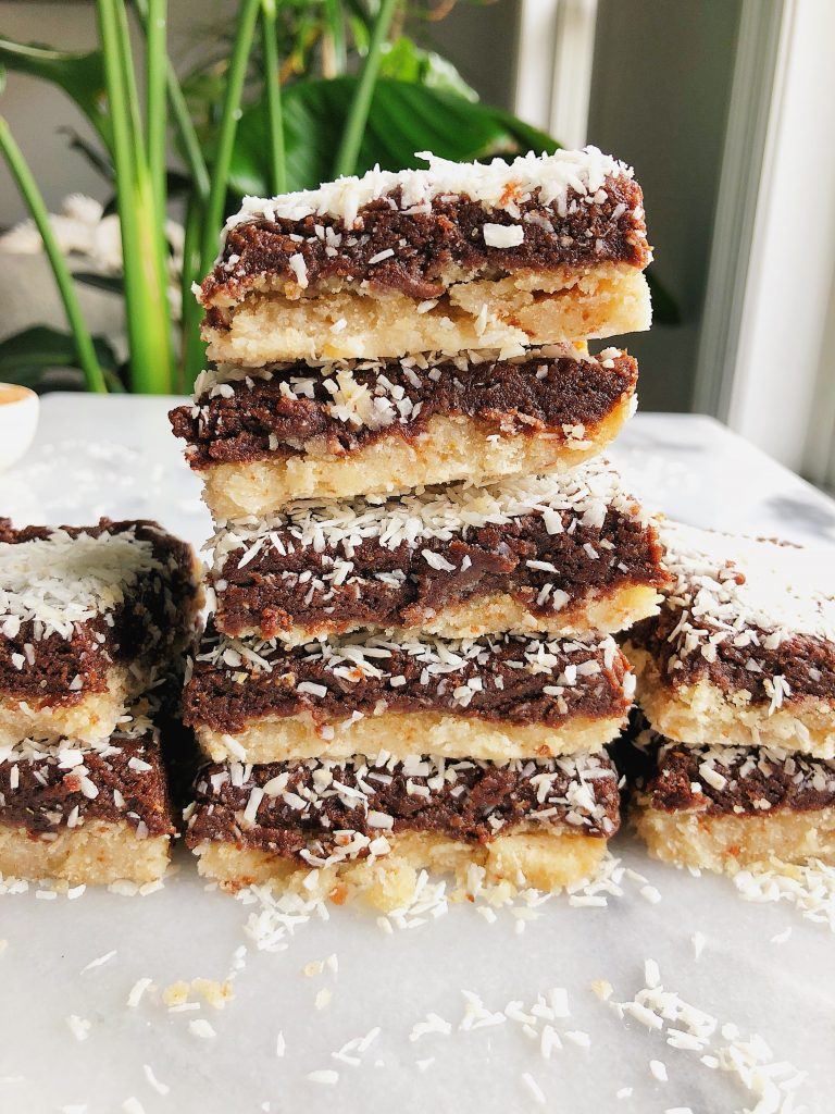 Homemade Paleo Chocolate Crack Bars made with all vegan and gluten-free ingredients for a delicious healthy dessert!