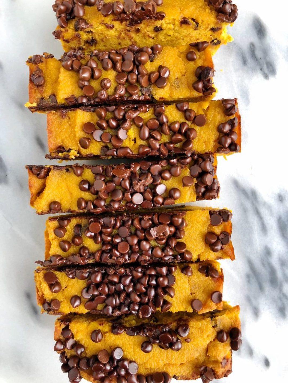 Paleo Chocolate Chip Sweet Potato Bread